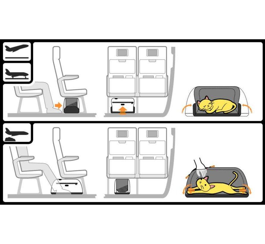 Hondendraagtas Air Orange Dream