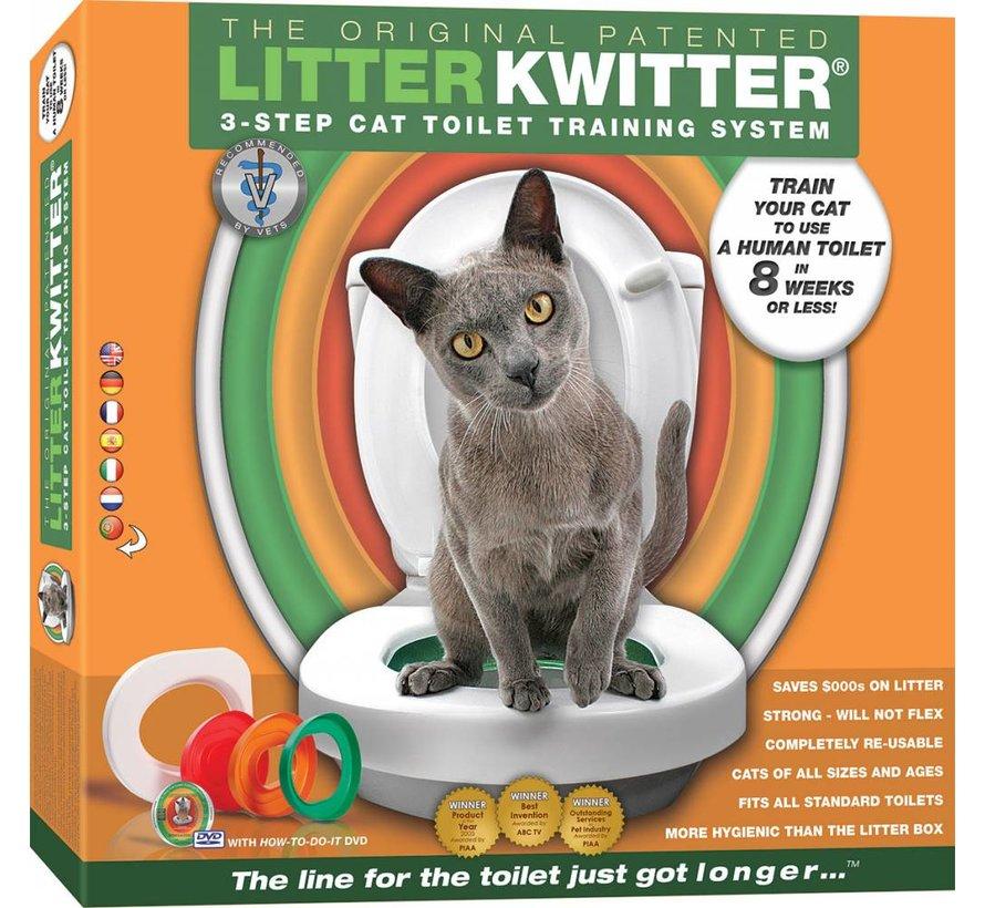 Toilet training systeem voor katten