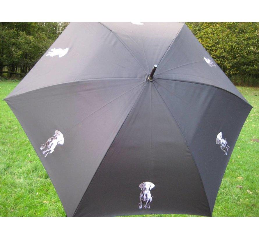 Paraplu met hondenprint