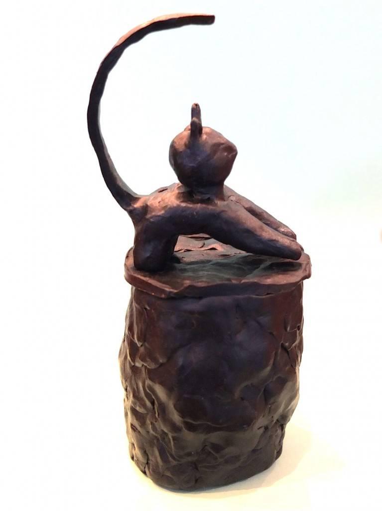 Bronzen urn voor hond of kat