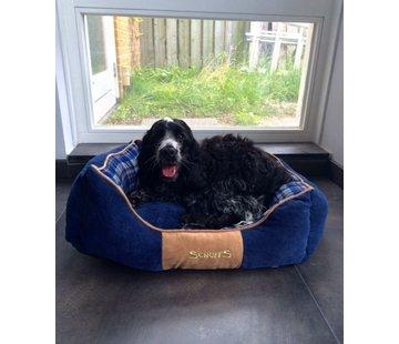 Scruffs Dog Bed Highland Blue
