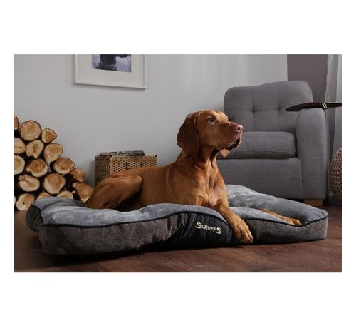 Scruffs Dog Cushion Chester Graphite