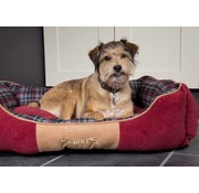Scruffs Dog Bed Highland Red