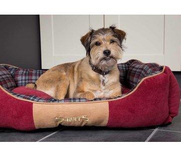 Scruffs Dog Bed Highland Red