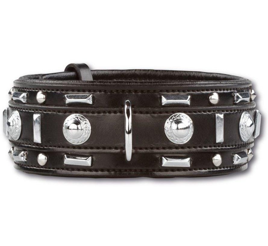 Dog Collar Glorious Black 60mm