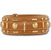 Doxtasy Dog Collar Glorious Tan 60mm