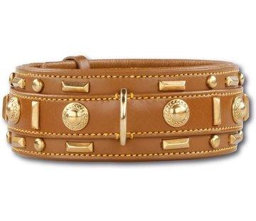 Doxtasy Hondenhalsband Glorious Tan 60mm