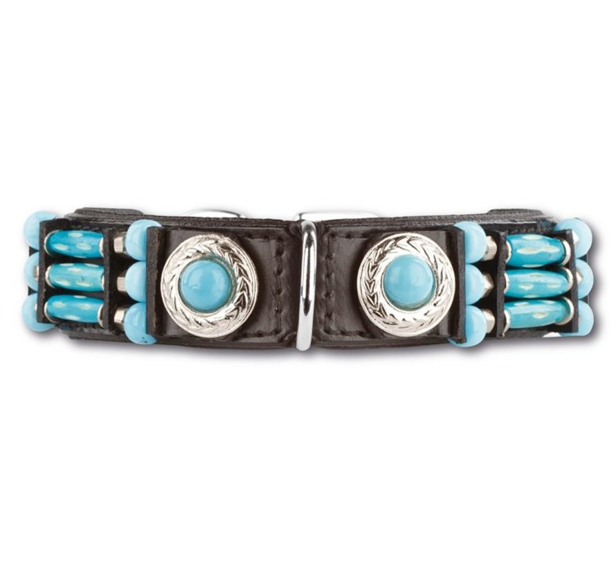 Dog Collar Blue River 25 mm
