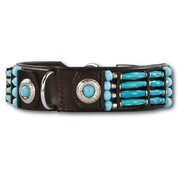 Doxtasy Dog Collar Blue River 35mm