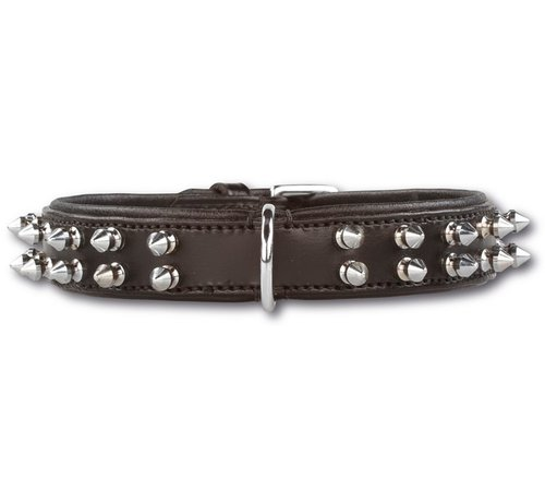 Doxtasy Dog Collar Double Spike 25 mm