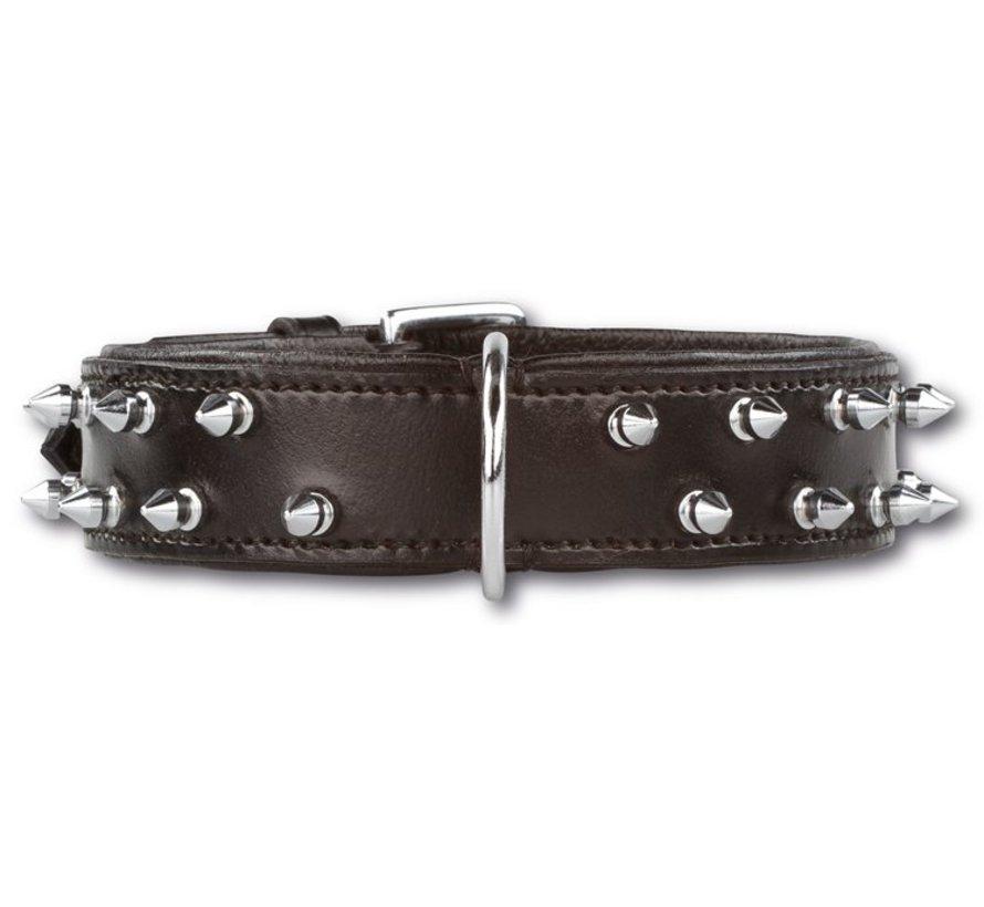 Dog Collar Double Spike 35 mm