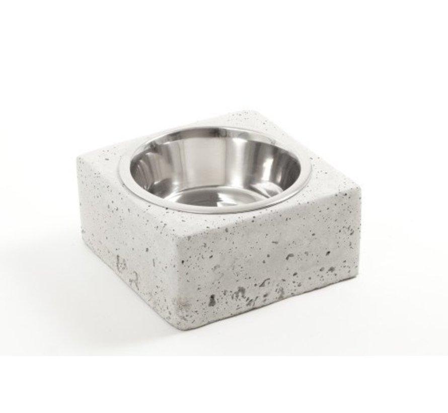 Design Beton Voerbak of Drinkbak voor de hond of kat
