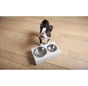 Krantz Design double bowl for the dog or cat