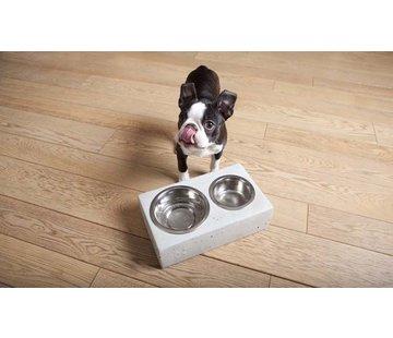 Krantz Design double bowl for the dog or cat