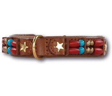 Doxtasy Dog Collar Brown Fox 15mm