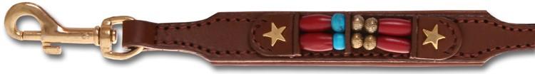 Hondenriem Brown Fox 10mm