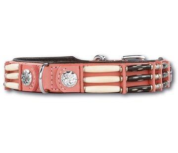 Doxtasy Dog Collar Pink Eagle 25mm