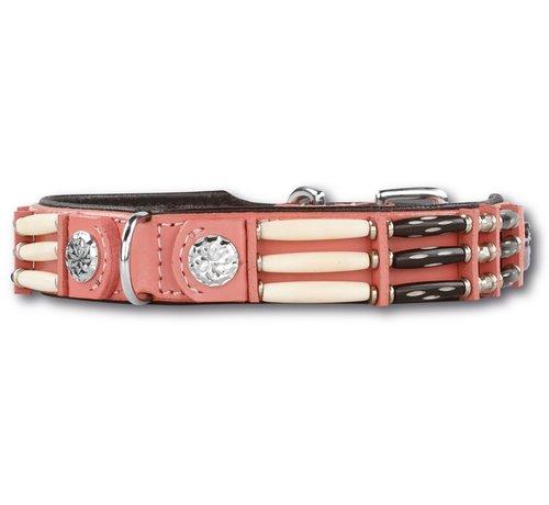 Doxtasy Hondenhalsband Pink Eagle 25mm