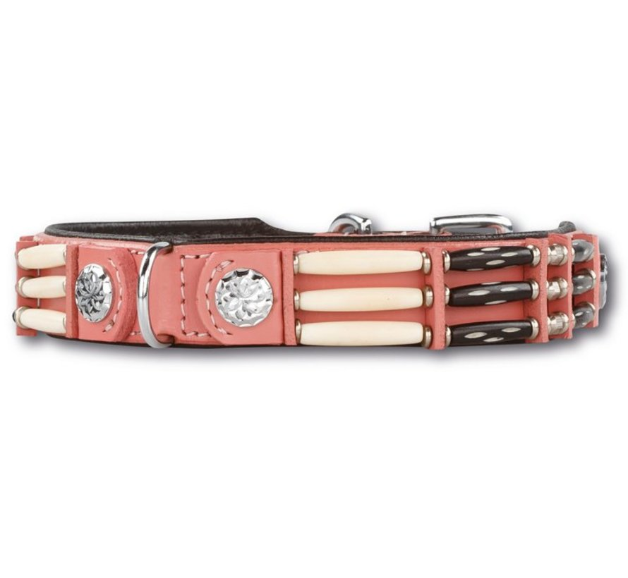 Dog Collar Pink Eagle 25mm