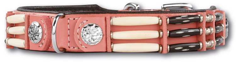 Hondenhalsband Pink Eagle 25mm