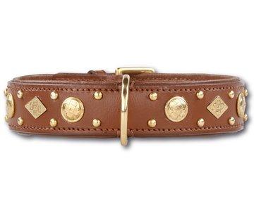 Doxtasy Dog Collar Royal Tough Brown