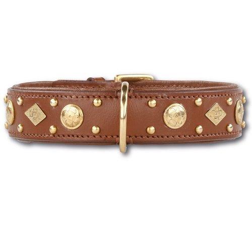 Doxtasy Hondenhalsband Royal Tough Brown