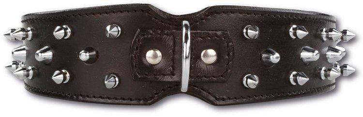 Afbeelding Hondenhalsband Savage Spikes Black 45mm door Petsonline