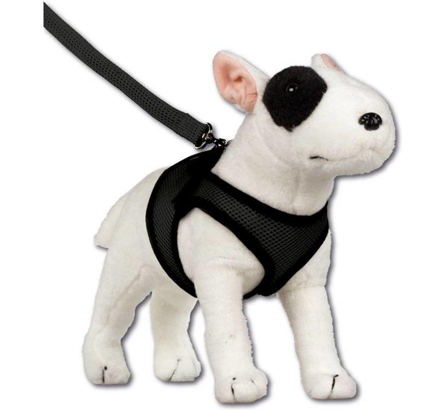 Comfy Dog Harness Mesh Black