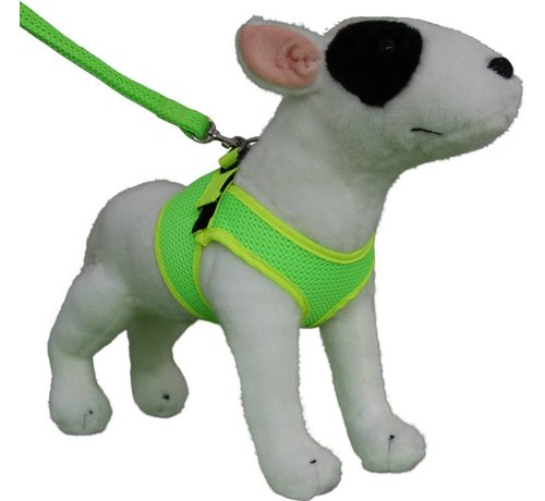 Doxtasy Comfy Dog Harness Mesh Fluo Green