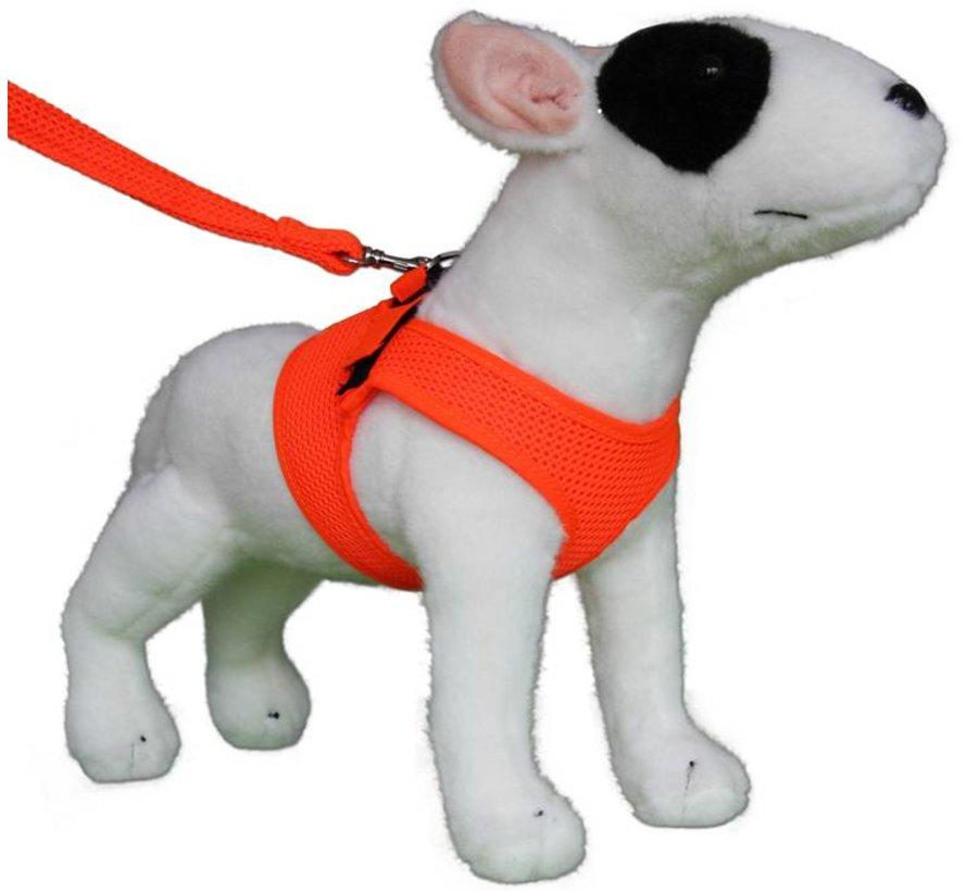 Comfy Dog Harness Mesh Fluo Orange