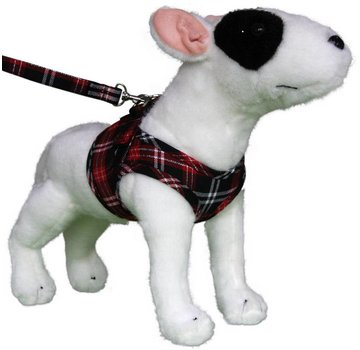 Doxtasy Comfy Dog Harness Scottish Black