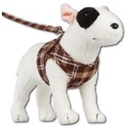Doxtasy Comfy Dog Harness Scottish Brown
