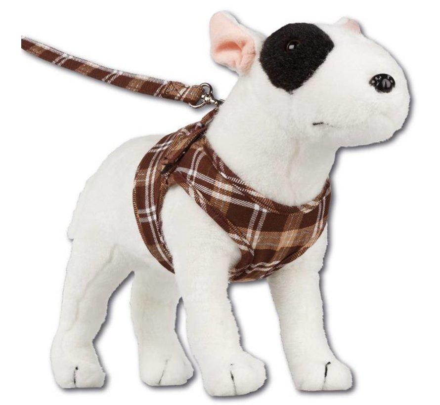 Comfy Dog Harness Scottish Brown