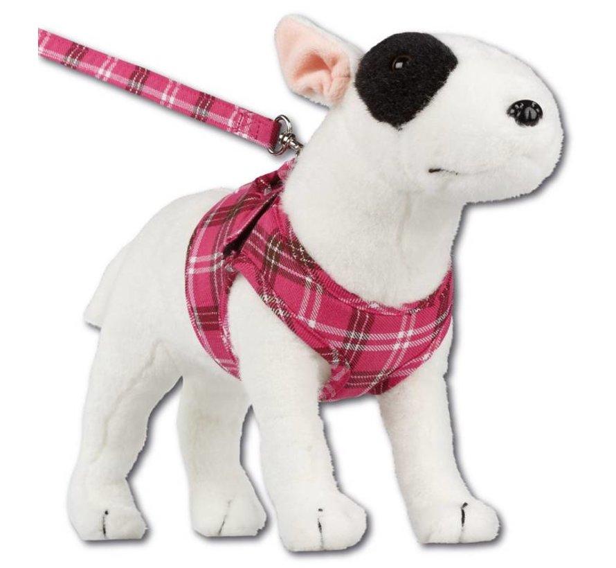 Comfy Dog Harness Scottish Hot Pink