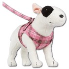 Doxtasy Comfy Dog Harness Scottish Pink