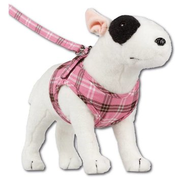 Doxtasy Comfy Dog Harness Scottish Pink