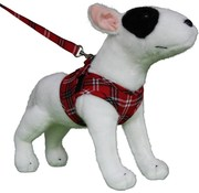 Doxtasy Comfy Dog Harness Scottish Red