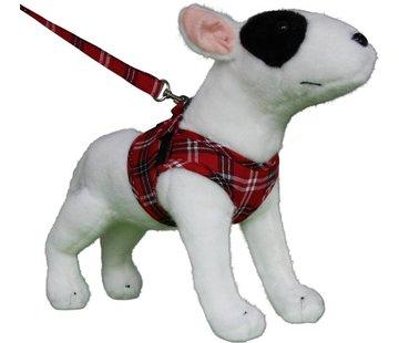 Doxtasy Comfy Dog Harness Scottish Red