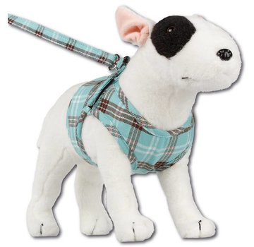 Doxtasy Comfy Dog Harness Scottish Turquoise
