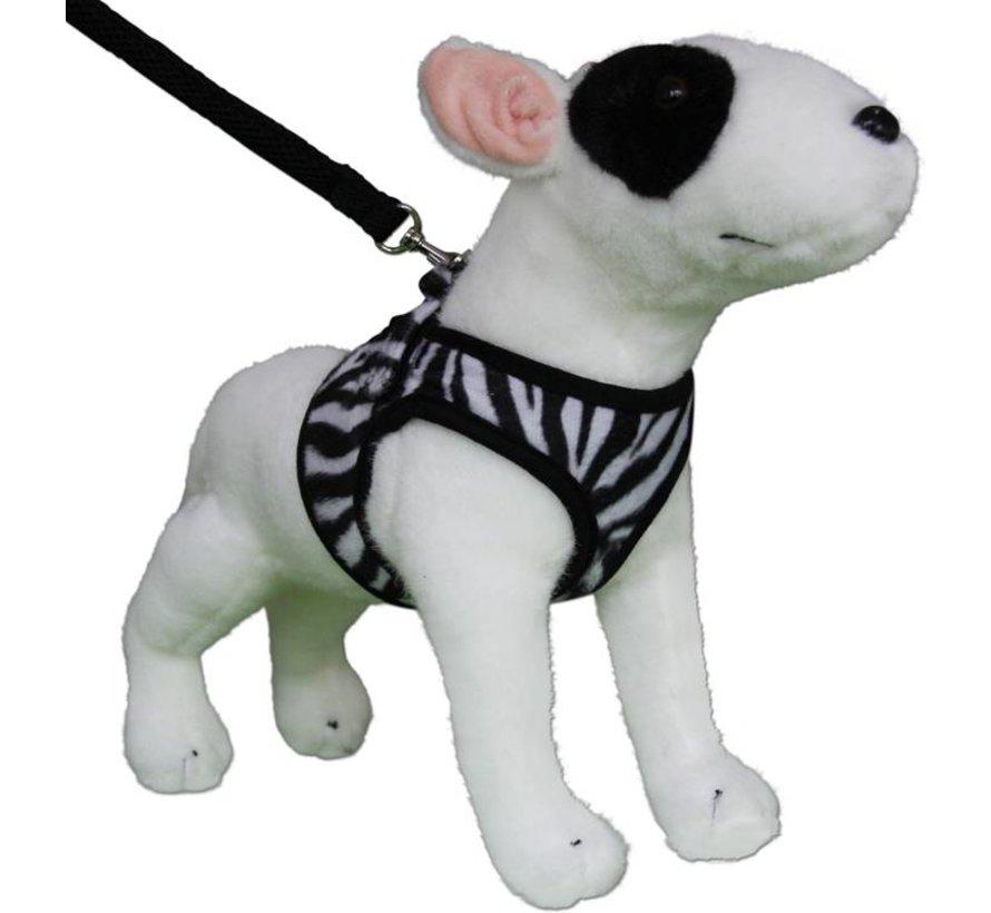 Comfy Dog Harness Zebra