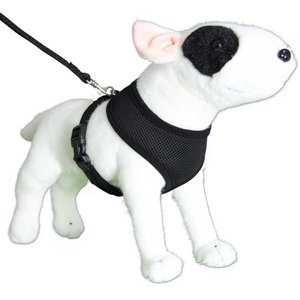 Doxtasy Round Loop Dog Harness Mesh Black