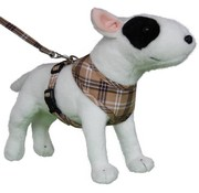 Doxtasy Round Loop Dog Harness Scottish Beige