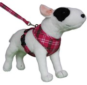 Doxtasy Round Loop Dog Harness Scottish Hot Pink
