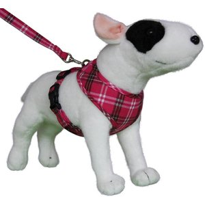 Doxtasy Round Loop Dog Harness Scottish Hot Pink