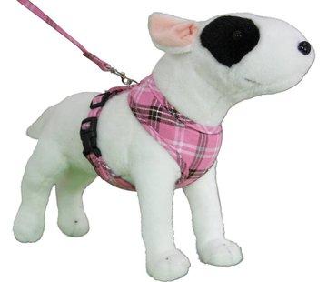 Doxtasy Round Loop Dog Harness Scottish Pink