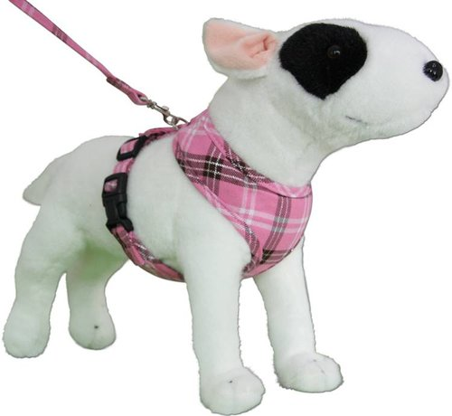 Doxtasy Round Loop Dog Harness Scottish Pink