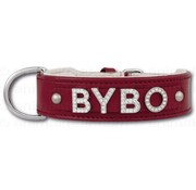 Doxtasy Large Red Dog Collar with name