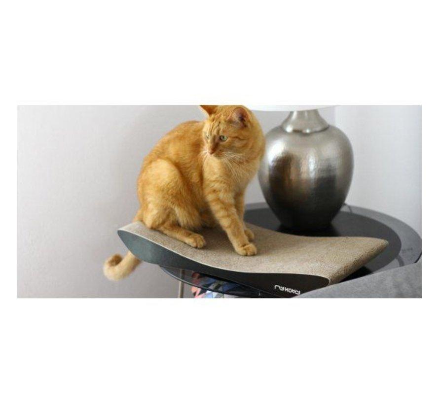 Cat Scratcher TOBI Black