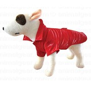 Doxtasy Dog Coat Raincoat New York Red