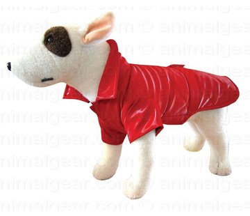 Doxtasy Dog Coat Raincoat New York Red